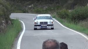mercedes rally 19 histo schäberle bergmann mercedes benz 190 montmell rallyracc