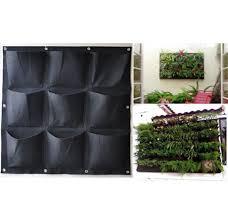 flora felt living wall planter vertical garden vertical wall