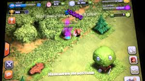 halloween headstones clash of clans halloween headstone youtube