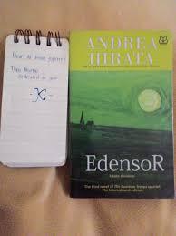 cara membuat novel bahasa inggris book review of edensor kingkin kinamu