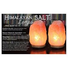 Himalayan Salt Light by Himalayan Crystal Salt Lamps Set Of 2 2 3 Kg Lazada Malaysia