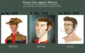 Draw This Again Meme Template - draw this again tf2 sniper by deeyadee on deviantart
