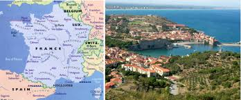 Carcassonne France Map by France U2013 Collioure Travel With Pat And Lew