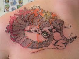 tremendous aries tattoo design ink pinterest