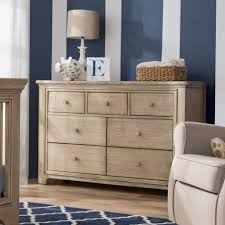 Rustic Convertible Crib Serta Langley 7 Drawer Dresser Rustic Whitewash N Cribs