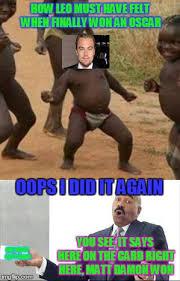 Funny Oscar Memes - it begins again imgflip