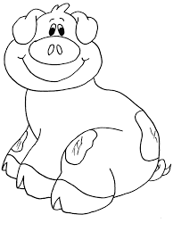 animals pig coloring pages u0026 coloring book