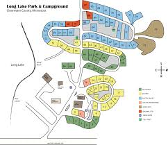 Lake Maps Mn Layout Map Long Lake Park U0026 Campground