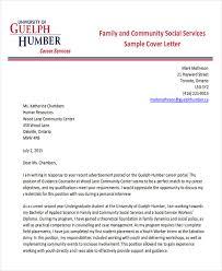 7 sample social worker cover letter free sample example