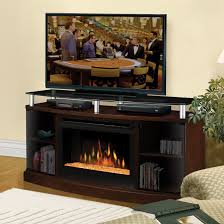 Media Console Furniture by Dimplex Acton Media Console With Electric Fireplace Hayneedle