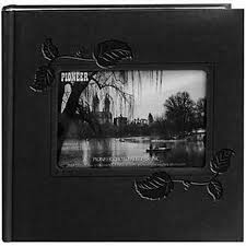 pioneer 4x6 pioneer 4 x 6 in embossed leather frame photo album 200 photos