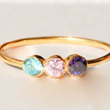 dual birthstone ring gemstone ring ideas collections
