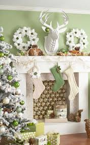 cute christmas fireplace mantel decorating ideas amys office