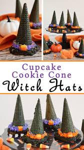 cupcake cookie cone witch hats your everyday family