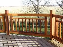 Ideas For Deck Handrail Designs Wood Deck Railing Design Ideas Utrails Home Design The