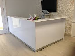 White Reception Desk Vaughan Office Furnitureall White Reception Desk Vaughan Office