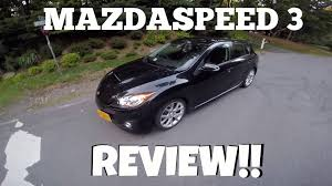 2010 mazdaspeed 3 review and test drive youtube