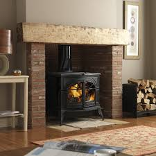 vermont defiant two in one wood burning stove fireplace products