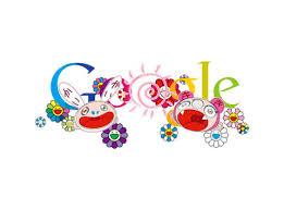 new google homepage design takashi murakami google homepage logo highsnobiety