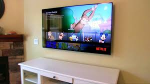 mount tv on wall hide wires itus easy to hide the wires when