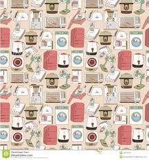 seamless home appliances pattern royalty free stock images image