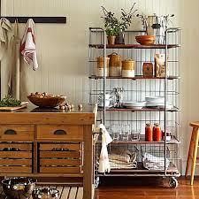 rollregal küche cool kitchen storage ideas rollen platz sparen und stahl
