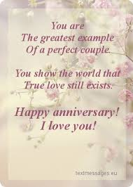 Anniversary Wishes Wedding Sms Happy Anniversary Messages Amp Sms For Marriage Always Wish You Are The Greatest Example Of A Perfect Couple You Show The