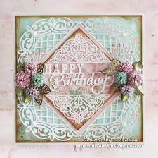 designs by marisa happy birthday card craft dies by sue wilson