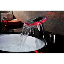 Sumerain Waterfall Faucet Led Waterfall Bathroom Sink Faucet Best Bathroom Decoration