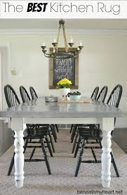 Washable Kitchen Area Rugs Kitchen Marvelous Area Rug For Dining Room Table Washable