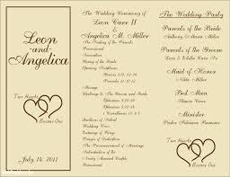 wedding program maker generous event programs templates contemporary exle resume