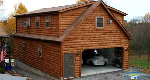 superior prefab shops and garages 4 2 car garage two story with