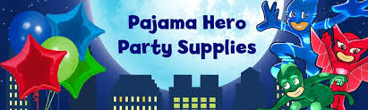 pj masks party supplies kids birthday supplies