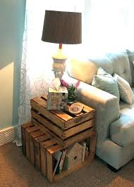 Where To Get Cheap Home Decor Decorating With Crates Glassnyc Co