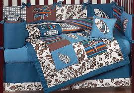Surfing Bedding Sets Surf Blue And Brown Crib Bedding Set By Sweet Jojo Designs 9