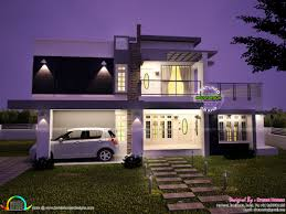 2633 square feet contemporary style home kerala home design and