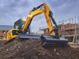 jcb launches 4 compact excavators doubles contractor breaker