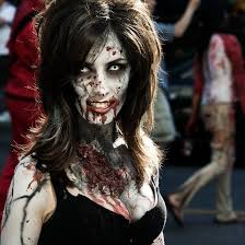 Face Makeup Designs For Halloween by 37 Zombie Photos That Are Just Plain Nasty Makeup Zombie