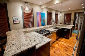kitchen countertops options checked pattern white black colors
