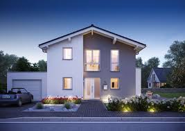 2 Familienhaus Kaufen Familienhaus Vero Satteldach Mit Flacher Dachneigung