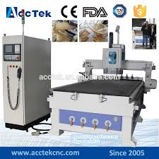 top sale 4 8 feet atc cnc router machinery wood design machine for