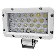 marine led spreader lights oracle lighting 2805 001 marine 8 24w led spreader light
