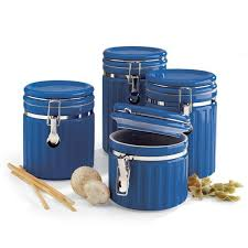 kitchen decorative canisters decorative canister sets kitchen canisters sets blue canister