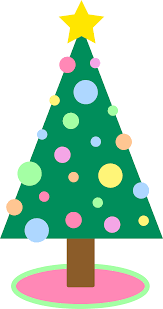 pastel colored ornaments hols