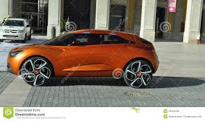 renault concept renault future car concept car prototype editorial stock photo