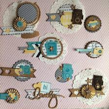 223 best scrapbook diy embellishments images on