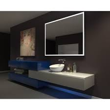 60 bathroom mirror ib mirror dimmable lighted bathroom mirror galaxy 60 in x 45 in