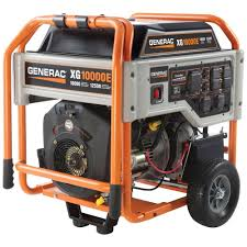 generac 6 500 watt gasoline powered portable generator 5940 the