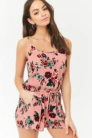 womens rompers and jumpsuits s rompers jumpsuits florals prints forever21