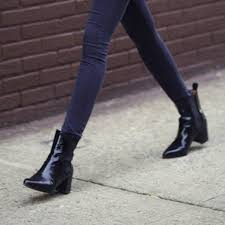 womens boots look 23 ways to wear ankle booties this fall no matter where you re